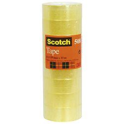 Traka ljepljiva 19mm/33m pk8 Scotch 508 3M.prozirna