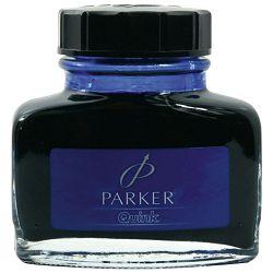 Tinta za nalivpero bočica 57cc Parker S0037470 plava