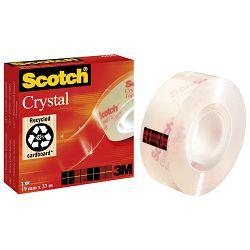 Traka ljepljiva nevidljiva 19mm/33m Scotch Crystal-600 3M.