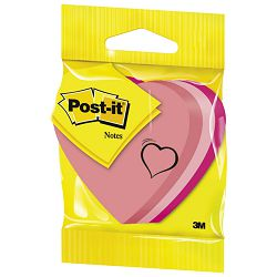 Blok samoljepljiv oblik Srce 225L Post-it 3M.2007H blister
