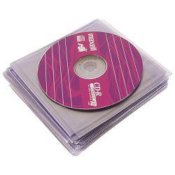 Etui za 1 CD pvc pk100 Princo proziran
