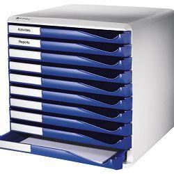 Kutija s 10 ladica Form set Leitz 52810035 plava
