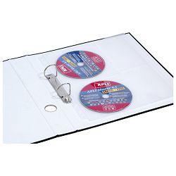 Fascikl uložni pp za 4 CD  i 4 vizitke A4 pk25 Donau 1715