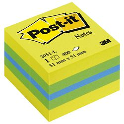 Blok samoljepljiv kocka 51x51mm 400L Post-it 3M.2051L