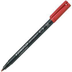 Marker permanentni 1,0mm Lumocolor Staedtler 317-2 crveni