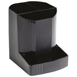 Čaša za olovke pvc Exacompta 675014D crna