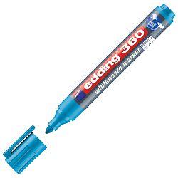 Marker za bijelu ploču 1,5-3mm Edding 360 svijetlo plavi