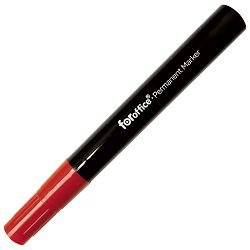 Marker permanentni 1,5-3mm okrugli vrh pk12 FORoffice crveni