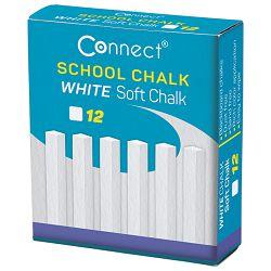 Kreda školska četvrtasta soft pk12 Connect bijela