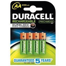Baterija za punjenje 1,2V AA pk4 Duracell HR6 blister