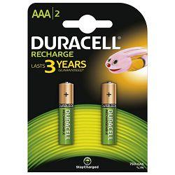 Baterija za punjenje 1,2V AAA pk2 Duracell HR03 blister