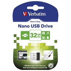 Memorija USB 32GB StorenStay Nano Verbatim 98130 blister!!