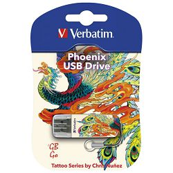 Memorija USB 16GB StorenGo mini Phoenix Verbatim 49887 blister