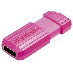 Memorija USB 32GB PinStripe Verbatim 49056 pink blister