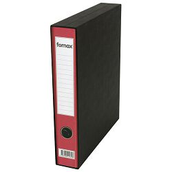 Registrator A4 uski u kutiji Prestige Fornax crveni