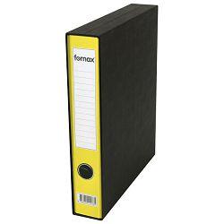 Registrator A4 uski u kutiji Prestige Fornax žuti