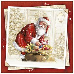Salvete troslojni 33x33cm pk20 Christmas ev Herlitz 11383858!!