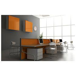 Sat zidni fi-30,5cm Oracle Unilux 400 032 214 narančasti