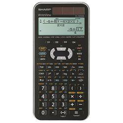 Kalkulator tehnički 10+2mjesta 556 funkcija Sharp EL-W506XSLC srebrni