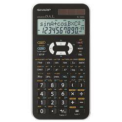 Kalkulator tehnički 10+2mjesta 462 funkcije Sharp EL-506 XWH bijeli!!