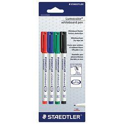 Marker za bijelu ploču 1mm pk4 Lumocolor Staedtler 301-SBK4D blister!!