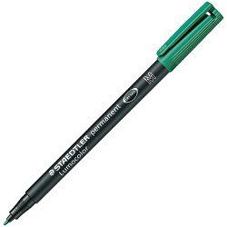 Marker permanentni 1,0mm Lumocolor Staedtler 317-5 zeleni