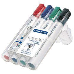 Marker za bijelu ploču 2mm pk4 Lumocolor Staedtler 351 WP4