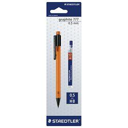 Olovka tehnička 0,5mm Graphite+mina Staedtler 7775BK25DA blister