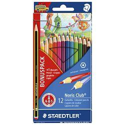Boje drvene  12boja Noris Staedtler 144SET1 blister + gratis olovka