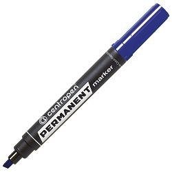 Marker permanentni 1-4,6mm klinasti vrh Centropen 8576-06 plavi!!