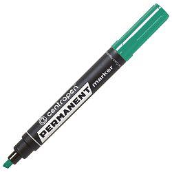 Marker permanentni 1-4,6mm klinasti vrh Centropen 8576-10 zeleni!!