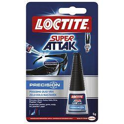 Ljepilo trenutačno 5g Super Attak Brush tekuće s četkicom Henkel 1624447 blister