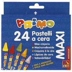 Boje voštane  24boje kartonska kutija CMP.052PC24MX blister