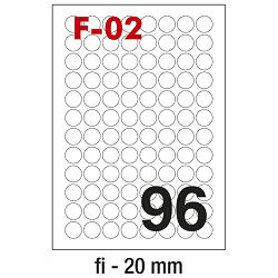 Etikete ILK fi-20mm pk100L Fornax F-02