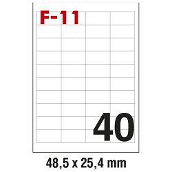 Etikete ILK  48,5x25,4mm pk100L Fornax F-11