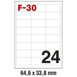 Etikete ILK  64,6x33,8mm pk100L Fornax F-30