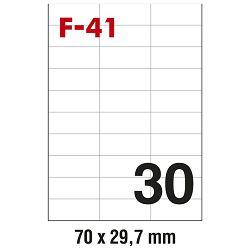 Etikete ILK  70x29,7mm pk100L Fornax F-41