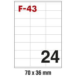 Etikete ILK  70x36mm pk100L Fornax F-43