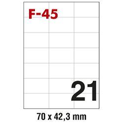 Etikete ILK  70x42,3mm pk100L Fornax F-45