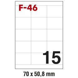 Etikete ILK  70x50,8mm pk100L Fornax F-46