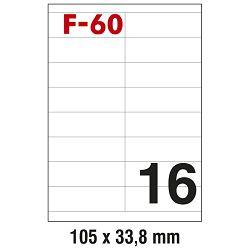 Etikete ILK 105x33,8mm pk100L Fornax F-60