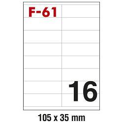 Etikete ILK 105x35mm pk100L Fornax F-61