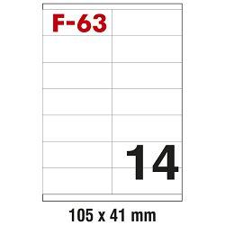 Etikete ILK 105x41mm pk100L Fornax F-63