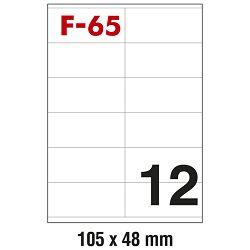 Etikete ILK 105x48mm pk100L Fornax F-65