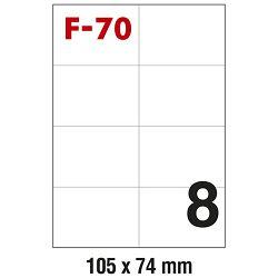 Etikete ILK 105x74mm pk100L Fornax F-70