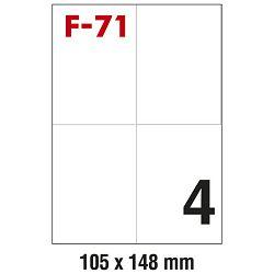 Etikete ILK 105x148mm pk100L Fornax F-71