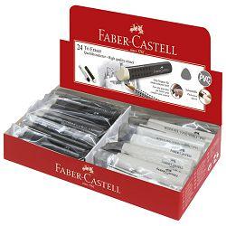 Gumica plastična Tri Faber Castell 182336 bijelo-crna