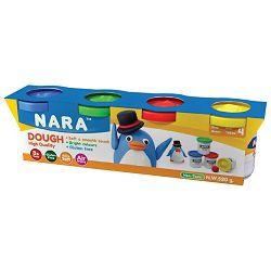 Set plastelin mekan 4boje x 130g (total 520g) Nara DO-520-4