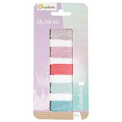 Set za izradu narukvica-konac Avenue Mandraine Clairefontaine CC009O pastel