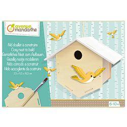 Set za izradu-Kućica za ptice Avenue Mandarine Clairefontaine CO171C